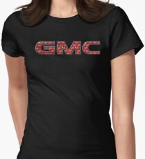 GMC - Engine Turned Womens Fitted T-Shirt