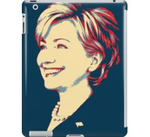 Hillary without Text (Shepard Fairey Style) iPad Case/Skin