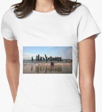 Crippled Docks Womens Fitted T-Shirt