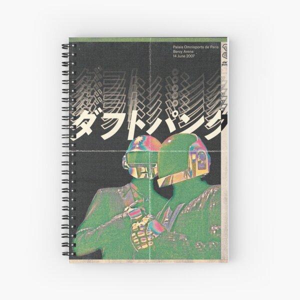 Daft Punk - Futuro de Japón Cuaderno de espiral