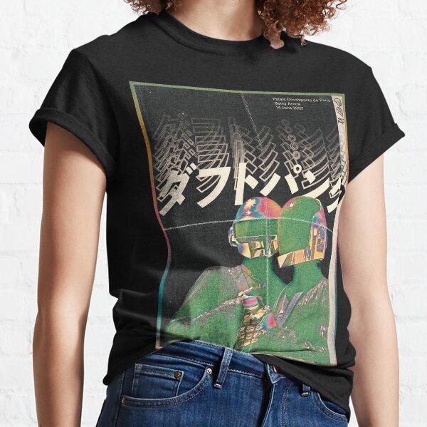 Daft Punk - Futuro de Japón Camiseta clásica