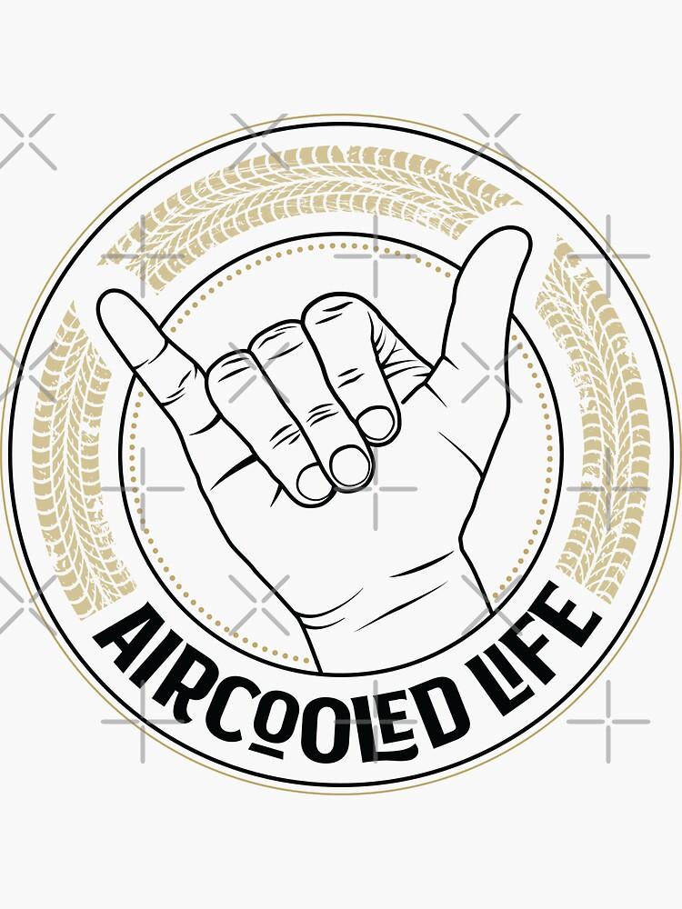 Aircooled Vdub Greeting / wave - Aircooled Life by Joemungus