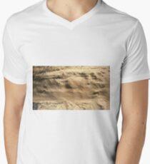 The Side of a Sand Dune Men's V-Neck T-Shirt