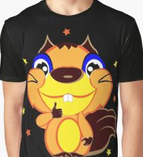 Squirrel showing thumbs up Graphic T-Shirt