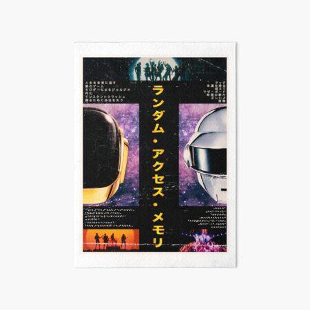 Daft Punk - Traditional Japanese Style  Art Board Print