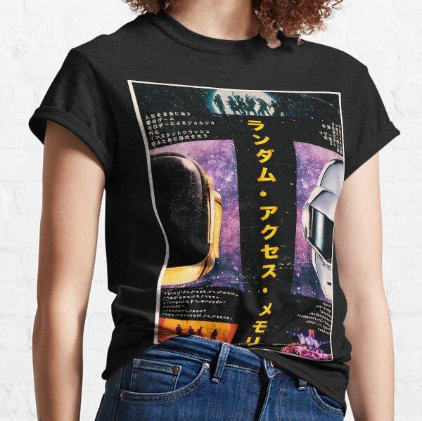 Daft Punk - Estilo tradicional japonés Camiseta clásica