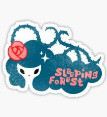 Sleeping Forest Sticker