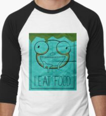 I EAT FOOD (Invader Zim) Men's Baseball ¾ T-Shirt