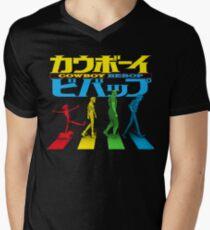 Kaubōi Bibappu ( カウボーイビバップ ) Men's V-Neck T-Shirt
