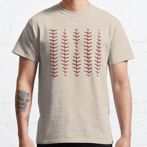 Baseball Lace Background Classic T-Shirt