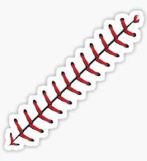 Baseball-Spitze-Hintergrund 2 Sticker