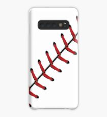 Baseball Lace Background 2 Case/Skin for Samsung Galaxy
