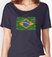 Brasil Textual Women's Relaxed Fit T-Shirt