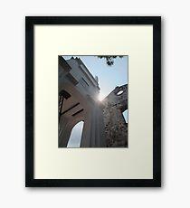 Historical Sunshine Framed Print
