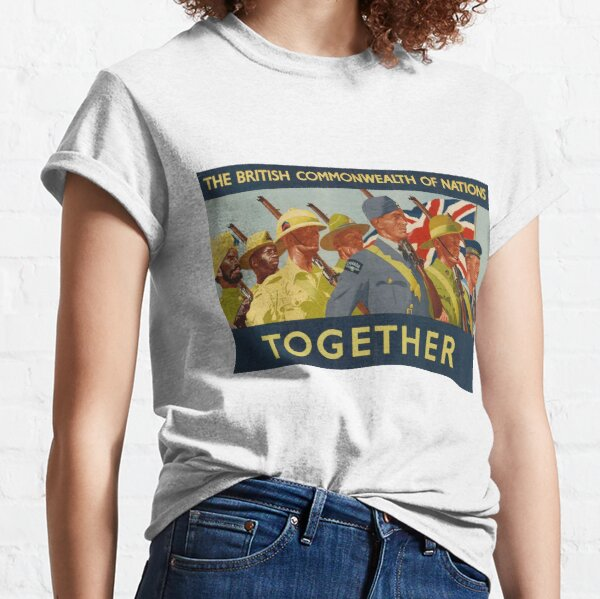 The British Commonwealth of National Together Classic T-Shirt