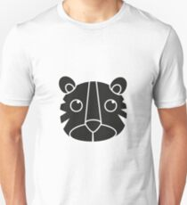 cute animal in black  T-Shirt