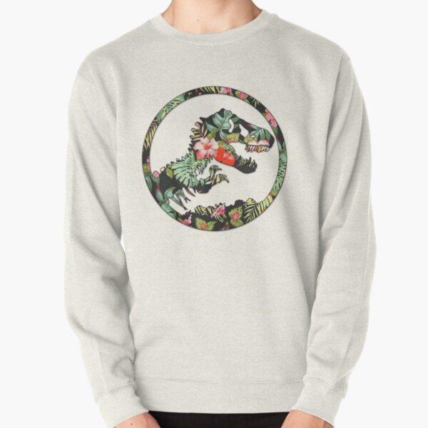 Jurassic Floral 2 | The Lost Design Pullover Sweatshirt