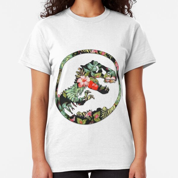 Jurassic Floral 2 | The Lost Design Classic T-Shirt