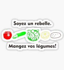 Soyez un rebelle Sticker