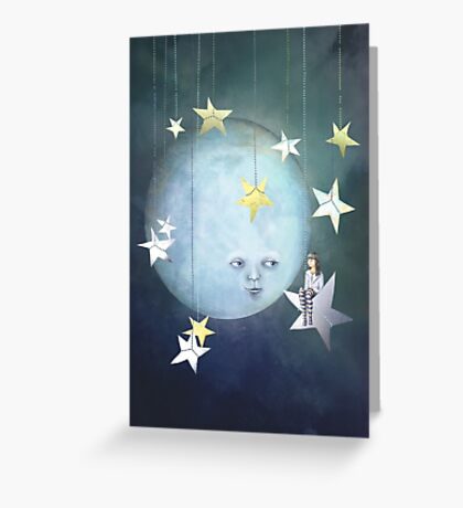 Hanging with the Stars Greeting Card
