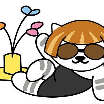 Lady Meow Meow (Neko Atsume) by Iceyuk