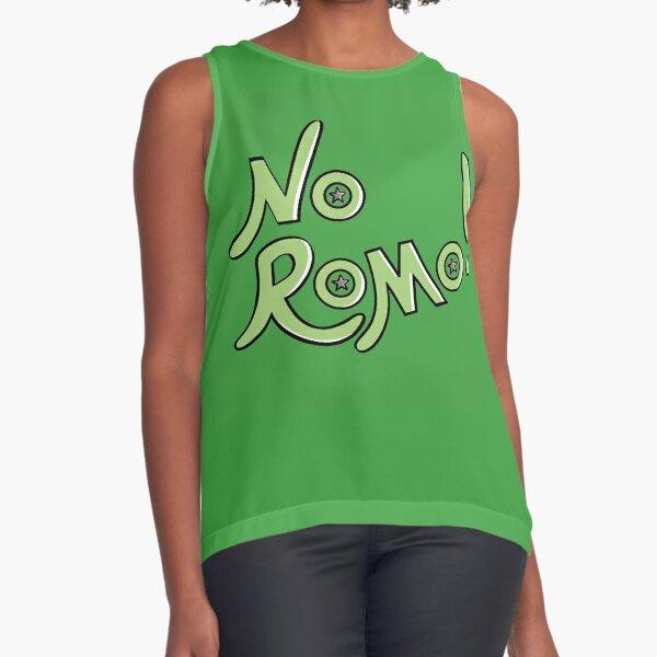 No Romo! Dark Green Sleeveless Top