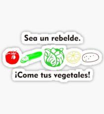 Vegetales Rebelde Sticker