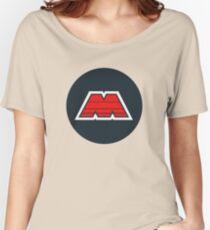 M-Tron Logo Women's Relaxed Fit T-Shirt