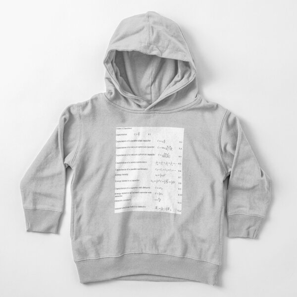 Chapter 8 Capacitance Toddler Pullover Hoodie