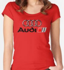 Audi Women's Fitted Scoop T-Shirt