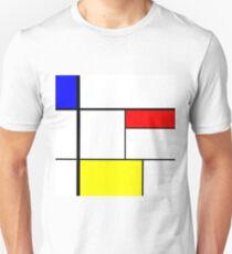 A Mondrian Moment Unisex T-Shirt