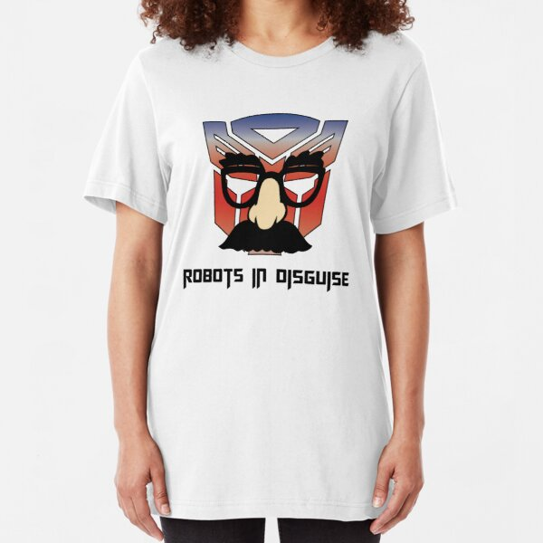 Autobots in Disguise Slim Fit T-Shirt