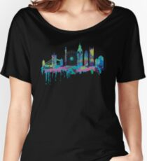 Inky London Skyline Women's Relaxed Fit T-Shirt