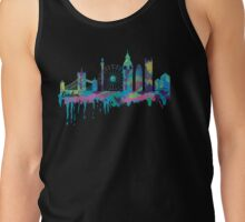 Inky London Skyline Tank Top