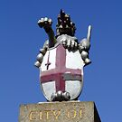 City of London, Coat of Arms, London, England by Remo Kurka