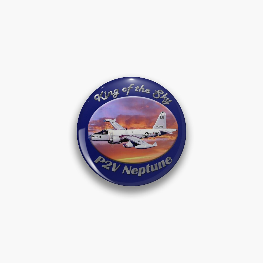 P2V Neptune King Of The Sky Pin