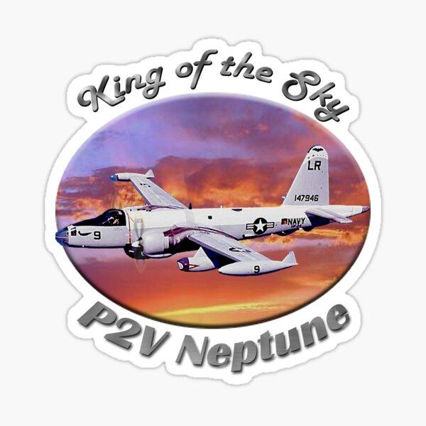 P2V Neptune King Of The Sky Sticker