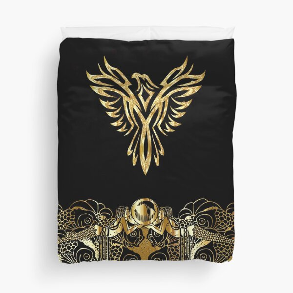 Black And Gold Luxury Duvet Cover