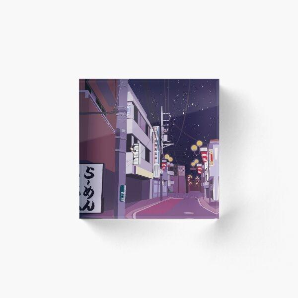 Japan Street Bloc acrylique