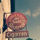 Cigar and  tobacco smokers shop, seen in Germany by Remo Kurka