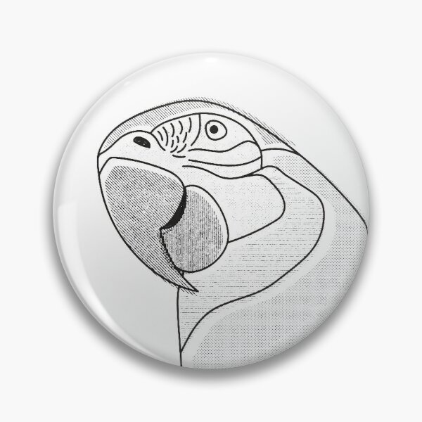 Arara (Macaw) Pin