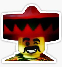 The Friendly Mexican Sticker