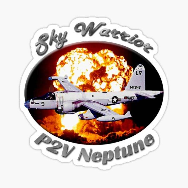 P2V Neptune Sky Warrior Sticker