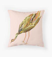 Waterbird 2 Throw Pillow