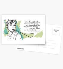 Audrey Hepburn Postcards