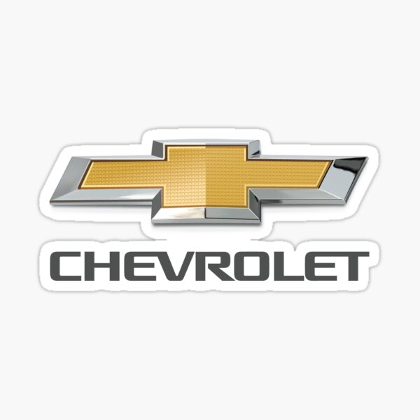 Chevy Logo Sticker