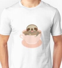 Sloth in a cup 3 T-Shirt
