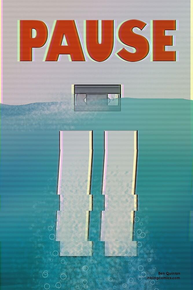 Pause by inklingcomics