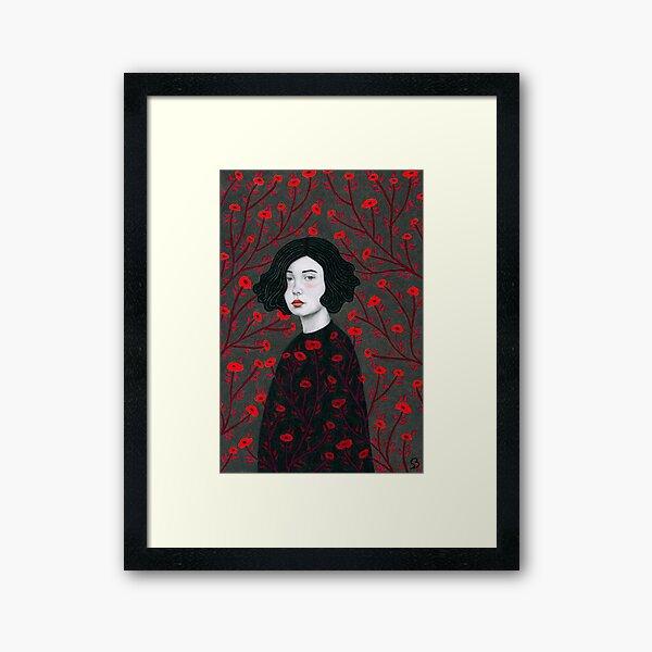Vera Framed Art Print