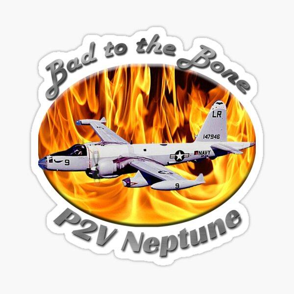 P2V Neptune Bad To The Bone Sticker